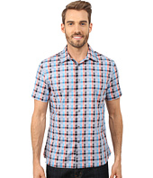 Perry Ellis - Short Sleeve Multicolor Check Pattern Shirt