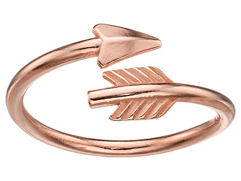 Alex and Ani Love Struck Arrow Wrap Ring - Rose Gold