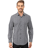 Perry Ellis - Non-Iron Travel Luxe Floral Print Shirt