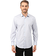 Perry Ellis - Long Sleeve Printed Mini Boxes Shirt