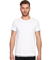 Vince - Pima Double Layer Short Sleeve Reversible Crew