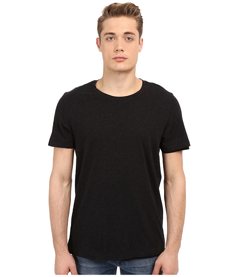 Vince Pima Double Layer Short Sleeve Reversible Crew
