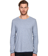 Vince - Pima Long Sleeve Double Layer Crew Neck T-Shirt