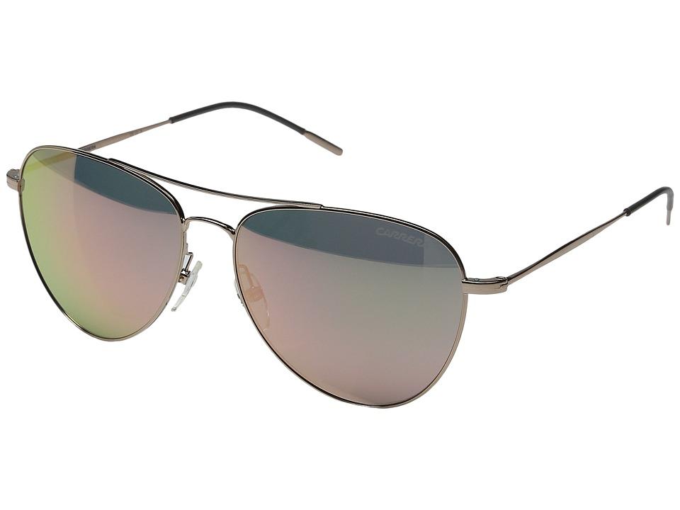 Carrera Carrera 108/S Gold Copper/Gray Mirror Rose Gold Fashion Sunglasses