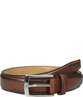 Cole Haan - 32mm Stitched Pressed Edge Belt with Tab