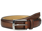 32mm Stitched Pressed Edge Belt with Tab