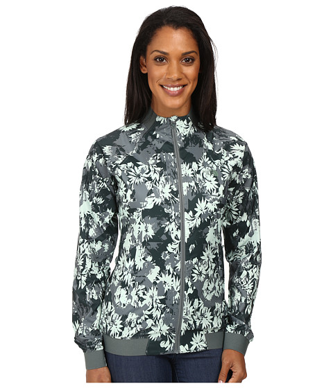 The North Face Rapida Jacket - Balsam Green City Nature Print