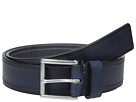 Cole Haan 35mm Flat Strap with Stitch and Burnishing Belt