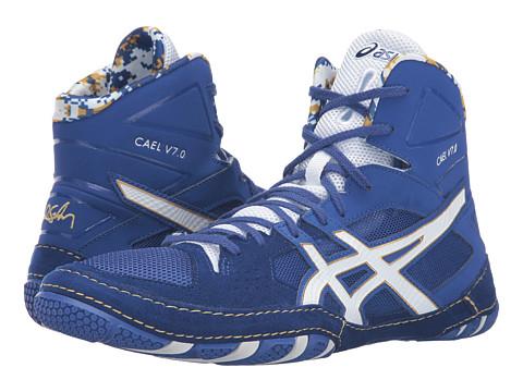 ASICS Cael® V7.0 - Asics Blue/White/Rich Gold