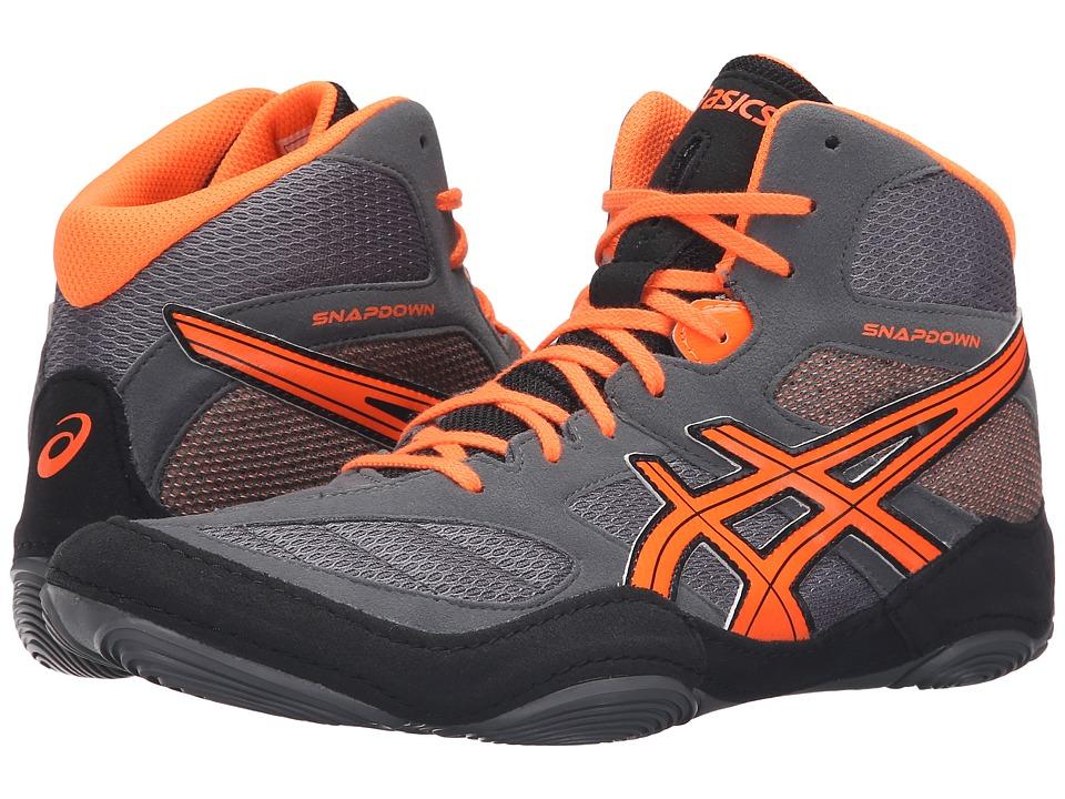 Orange Adidas Wrestling Shoes