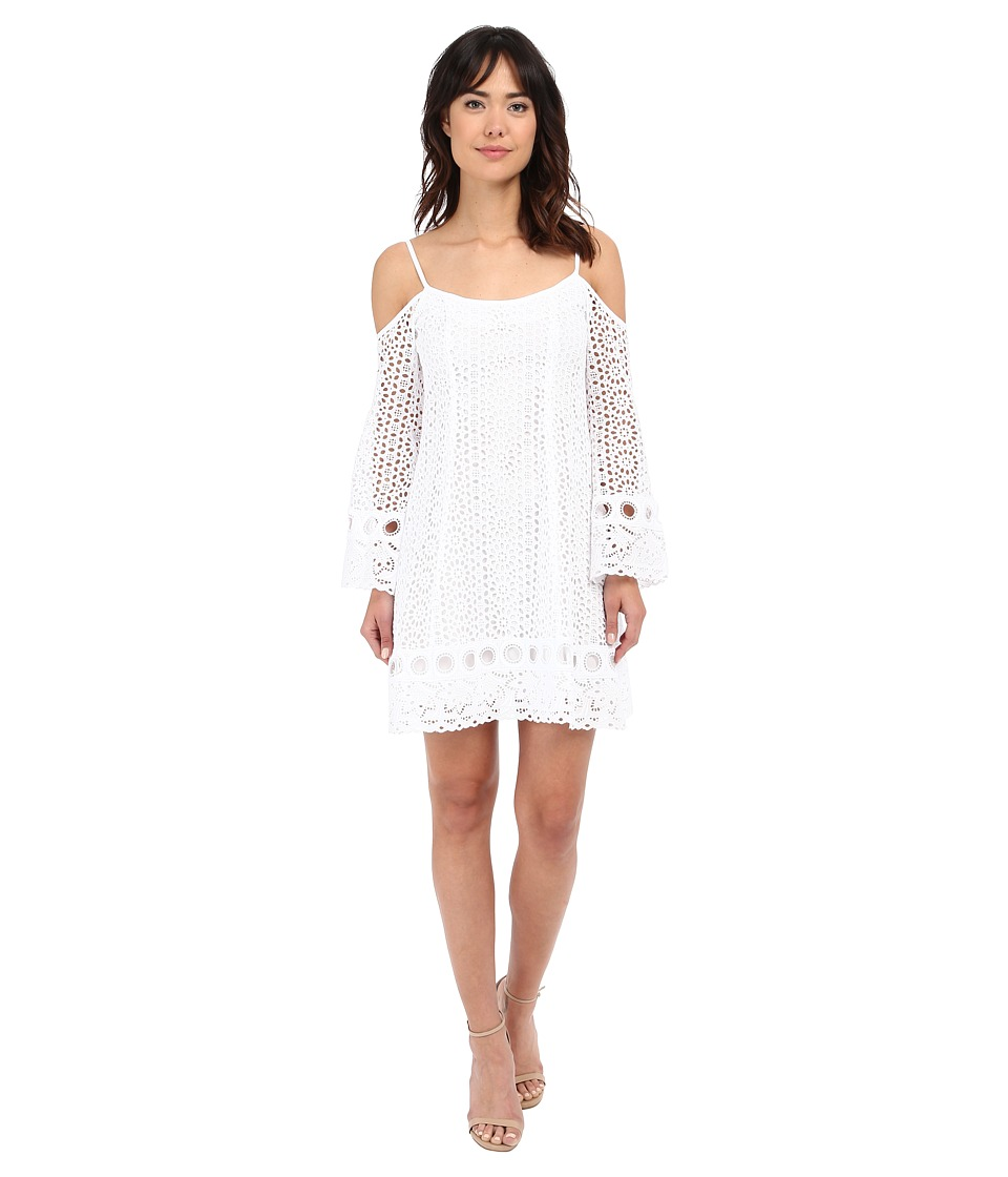 Nanette Lepore Performance Dress White Womens Dress