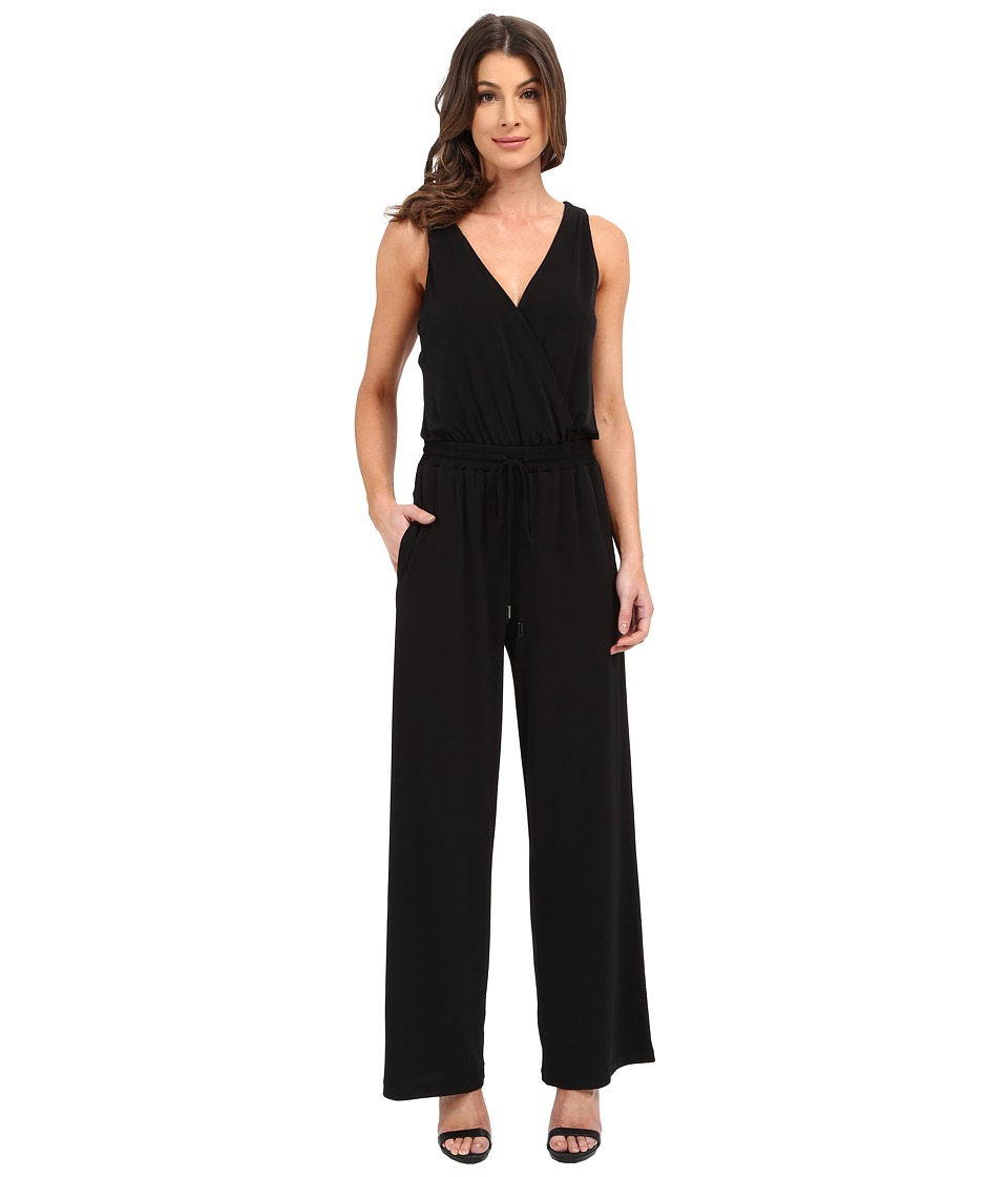 CATHERINE Catherine Malandrino Baz Jumpsuit Black Womens Jumpsuit Rompers One Piece