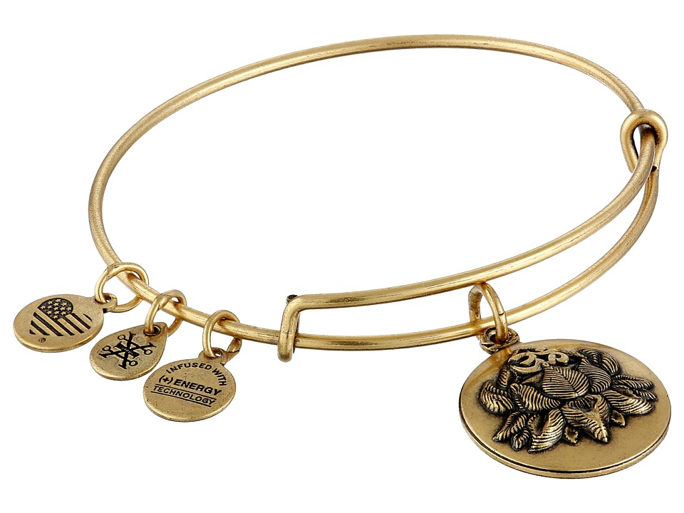 Alex and Ani Lotus Peace Petals III Bracelet Gold Bracelet
