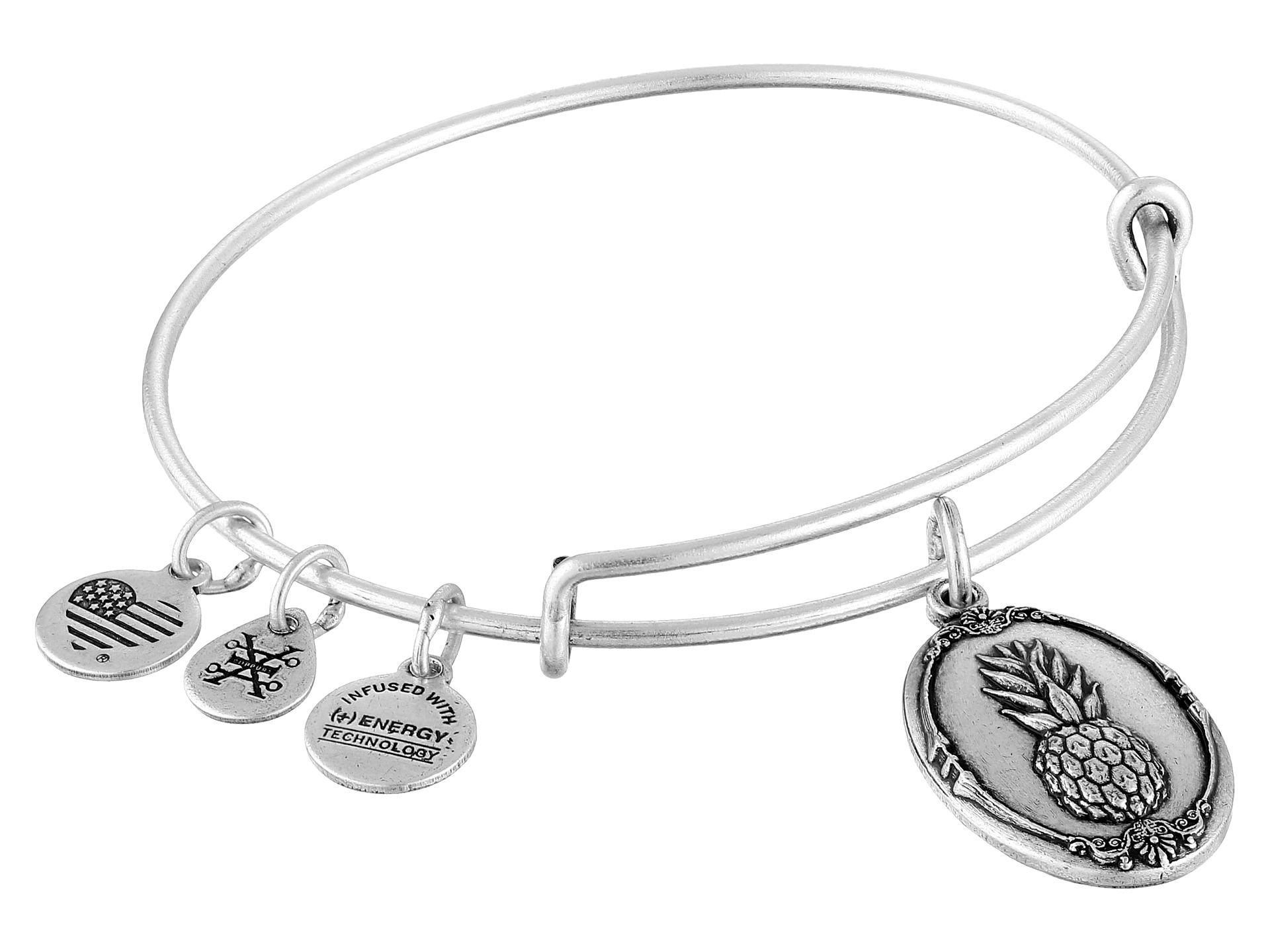 alex and ani pineapple ii bracelet zappos free