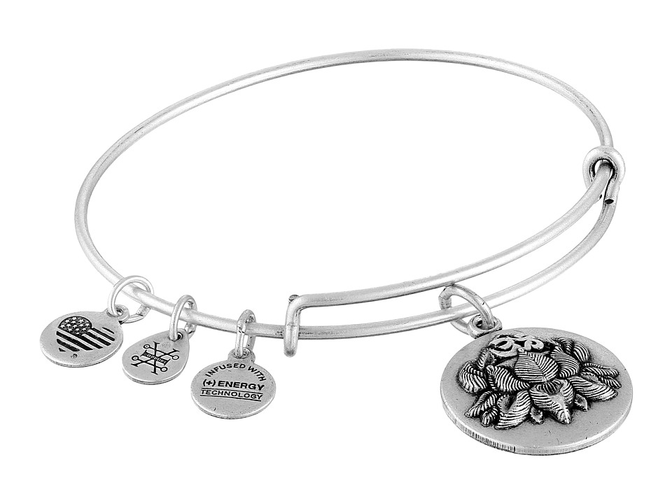 Alex and Ani - Lotus Peace Petals III Bracelet (Silver) Bracelet