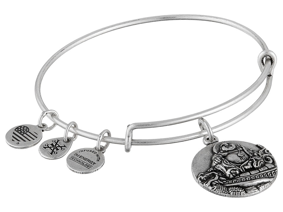 Alex and Ani - Laughing Buddha Bracelet (Silver) Bracelet