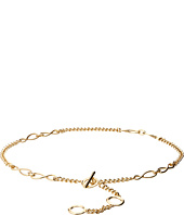 MICHAEL Michael Kors - Nautical Knotted Chain Belt with Toggle Front Closure