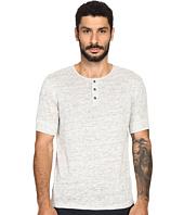 Vince - Linen Jersey Short Sleeve Henley