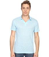 Vince - Linen Jersey Short Sleeve Polo