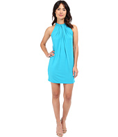 Michael Stars - Sleeveless Draped Halter Dress