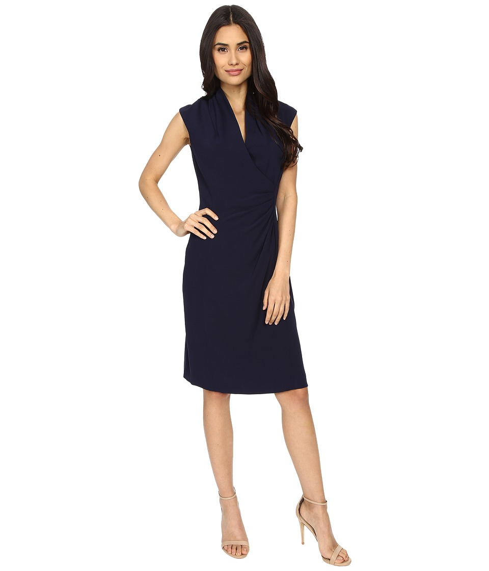 Tahari by ASL Dress 6120M950 Navy Womens Dress