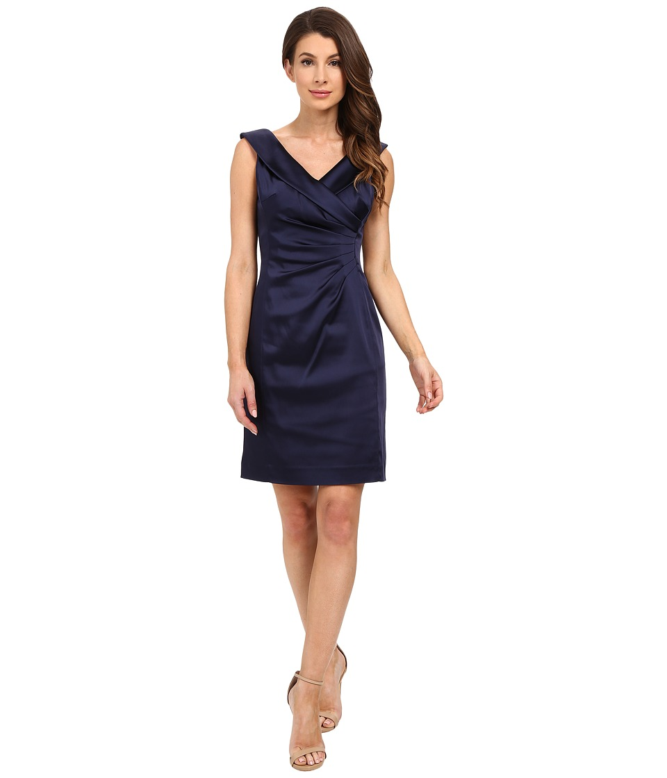 Tahari by ASL Alena Z Dress Navy Womens Dress
