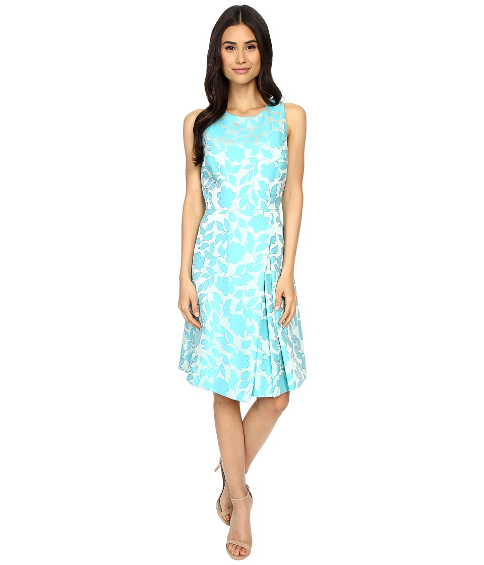 Tahari by ASL Julisa V Dress Sky/Aqua Womens Dress