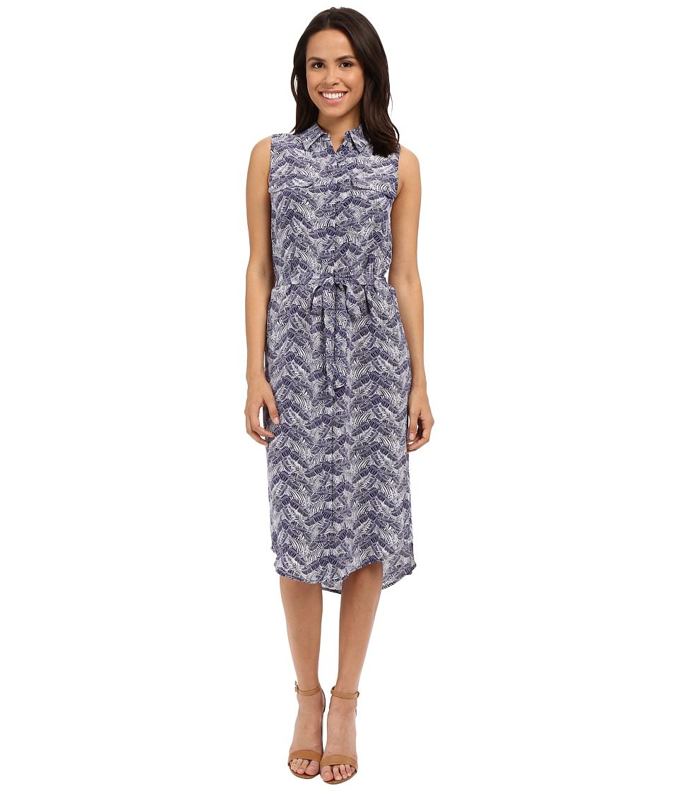 EQUIPMENT Tegan Dress Ultra Marine Womens Dress