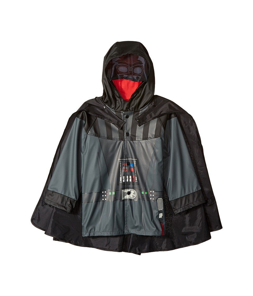 Western Chief Kids Star Wars Darth Vader Rain Jacket (Toddler/Little Kids) (Charcoal) Boy