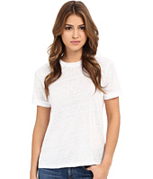 Michael Stars - Linen Knit Short Sleeve Crew w/ Rolled Sleeve