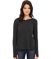 Michael Stars - French Terry Long Sleeve Hi Low with Thumbholes