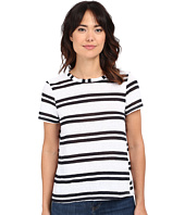 Michael Stars - Montauk Stripe Short Sleeve Crew Neck