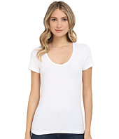 Michael Stars - Cotton Lycra Short Sleeve Scoop Neck