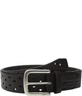 John Varvatos - 38mm Harness Perforated Veg Belt