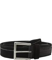 John Varvatos - 40mm Harness Brooklyn Stitched Belt