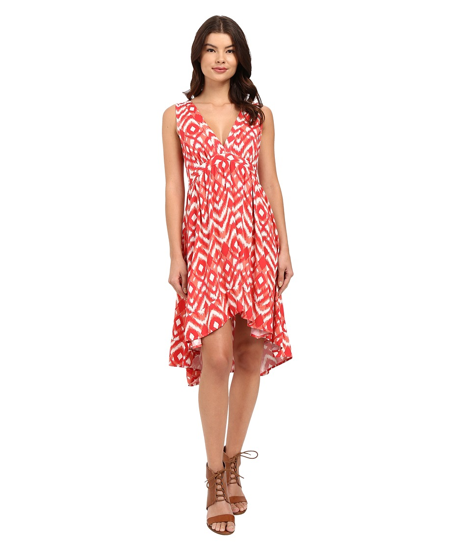 BB Dakota Brianna Jallabah Printed Rayon Dress Glow Womens Dress