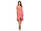 Brianna Jallabah Printed Rayon Dress