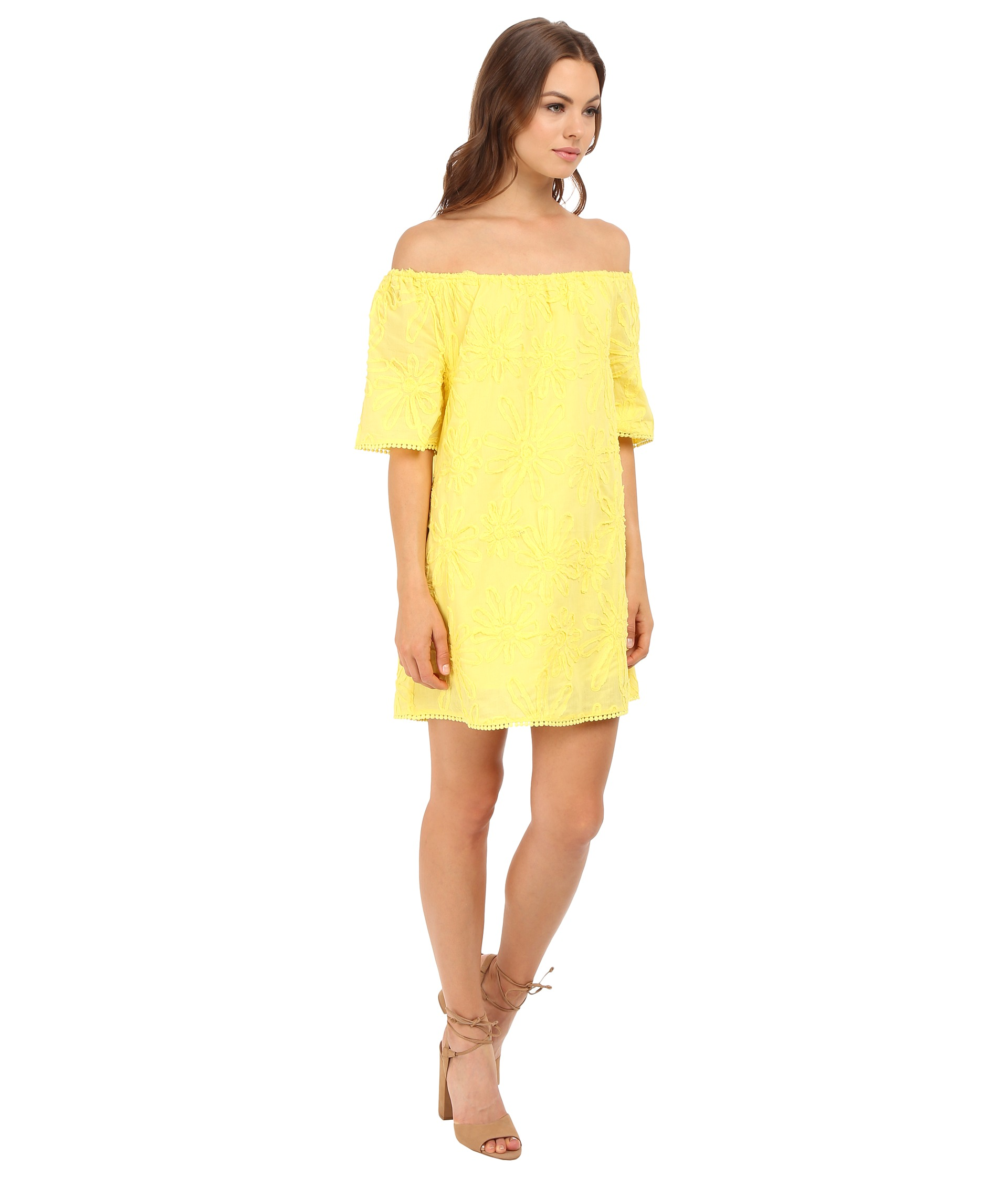 yellow dress 6pm official site