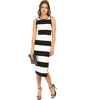 BB Dakota - Francesca Striped Ponte Midi Dress