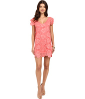 BB Dakota - Jacqueline Scallop Lace V-Neck Dress