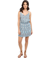 BB Dakota - Stacey Moroccan Tile Twill Dress