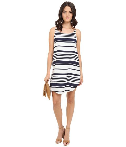 BB Dakota Riley Striped Crepon Dress