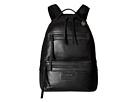 John Varvatos Detroit Zip Backpack (Black)