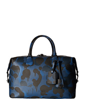 COACH - Printed Pebbled Explorer Duffel
