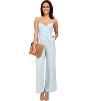 BB Dakota - Elliot Denim Tencel Jumpsuit with Tie Back