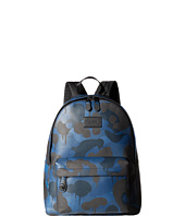 COACH - Printed Refined Pebbled Campus Backpack