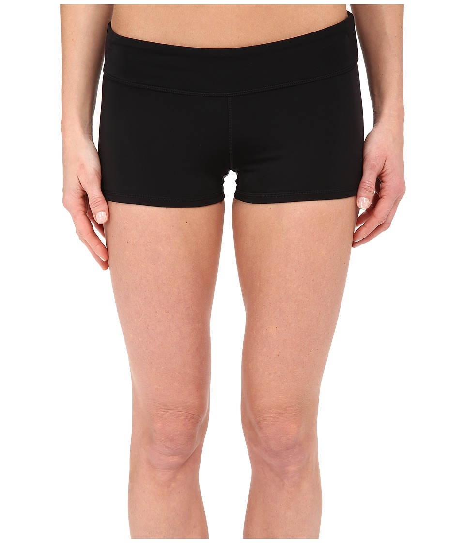 DKNY A Lister Beach Shorts Black Womens Swimwear