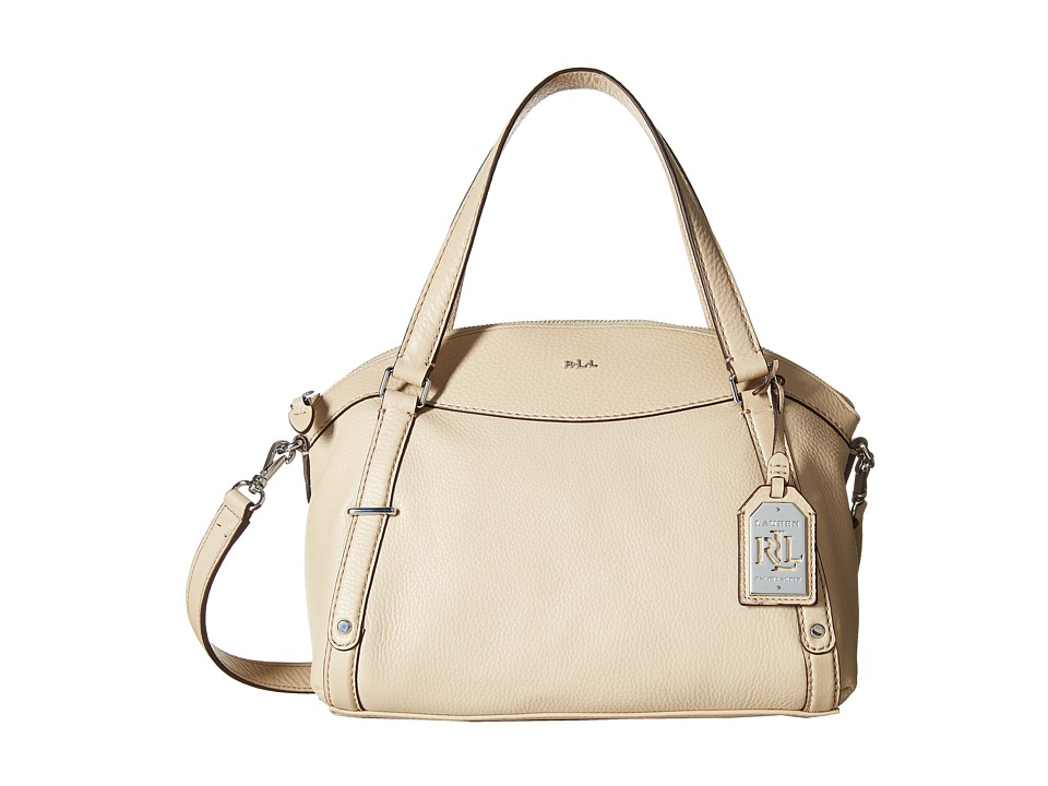 LAUREN Ralph Lauren - Grafton Falan Satchel (Straw) Satchel Handbags