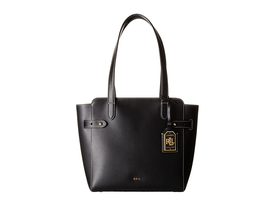 LAUREN Ralph Lauren - Harper Nara Shopper (Black) Handbags