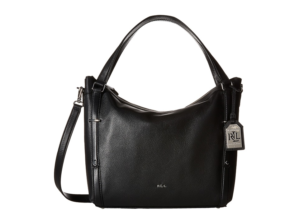 LAUREN Ralph Lauren - Grafton Felicity Hobo (Black) Hobo Handbags